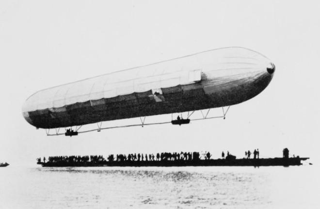 Pierwszy sterowiec Zeppelina