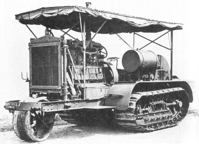 Traktor Holta