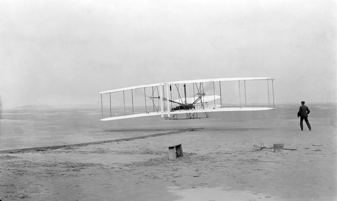 Pierwszy lot braci Wright