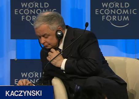 Kaczyński w Davos