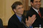 Bill Gates w trakcie pobytu w Polsce 2006