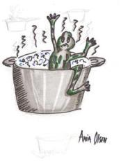 Jak ugotować żabę