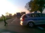 Wypadek w trasie z Warszawy do Lublina