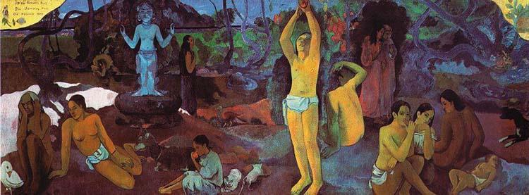 Gauguin Skąd przychodzimy kim jesteśmy dokąd zmierzamy