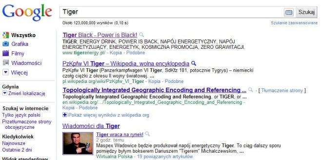 Tiger - napój energetyczny