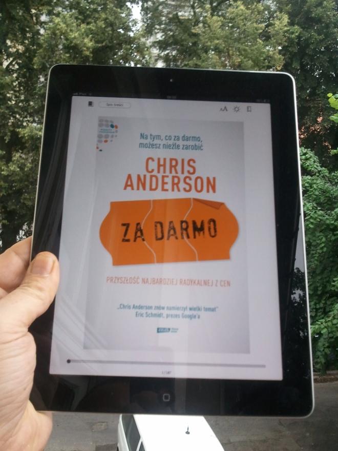 iPad Anderson za darmo