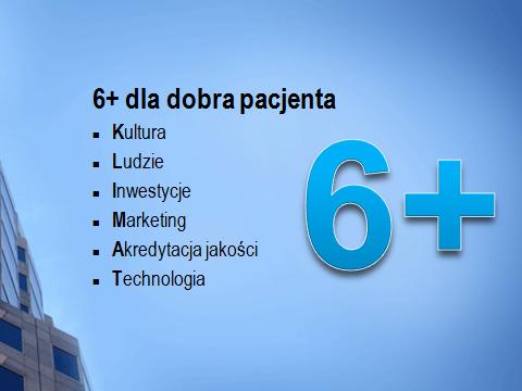 6+ dla dobra pacjenta