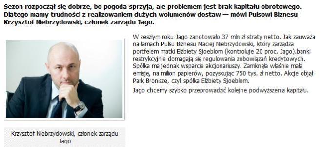 Krzysztof Niebrzydowski Jago
