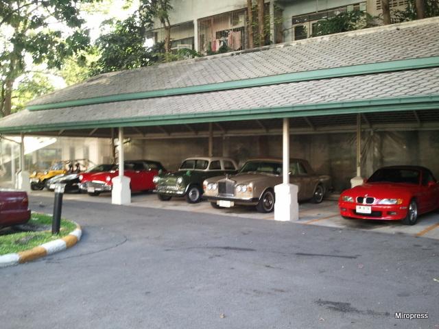 samochody tajskiego bankiera
