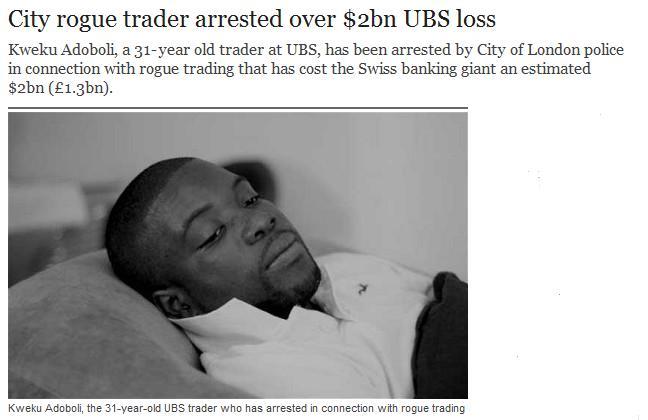 Rogue Trader UBS
