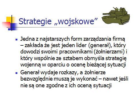 strategie wojskowe