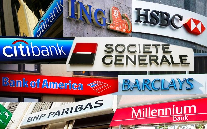 Przetasowania w bankowości 2012