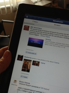 Facebook mobilny