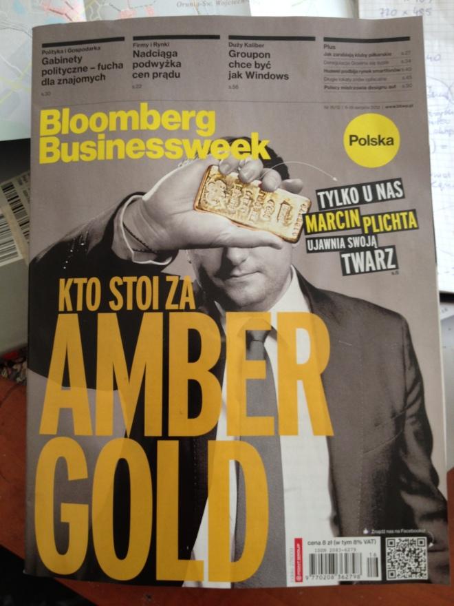 Bloomberg Businessweek Polska Amber Gold