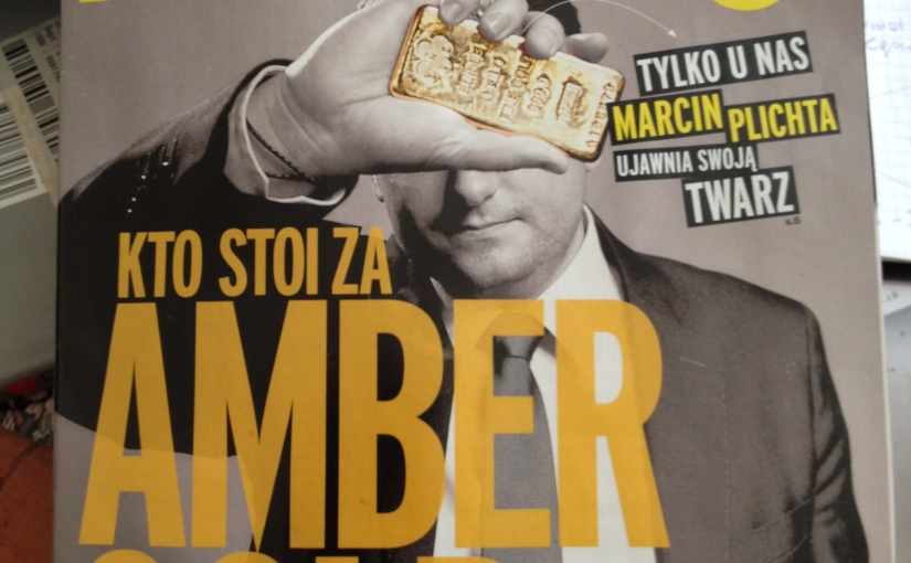 Bloomberg Businessweek Polska Amber Gold