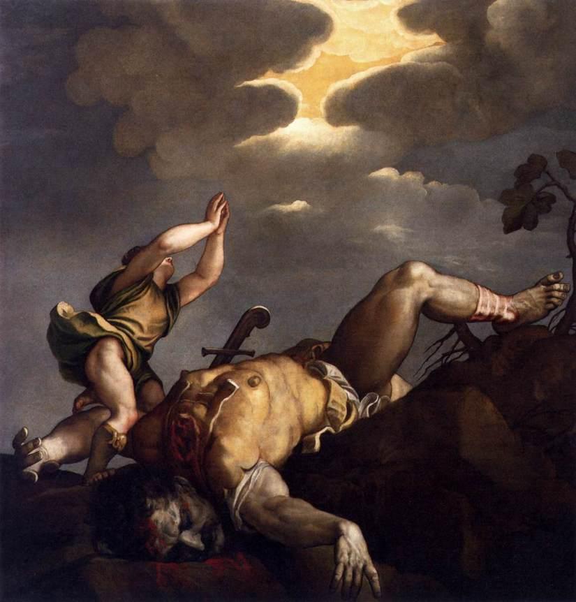 Tycjan, Dawid i Goliat