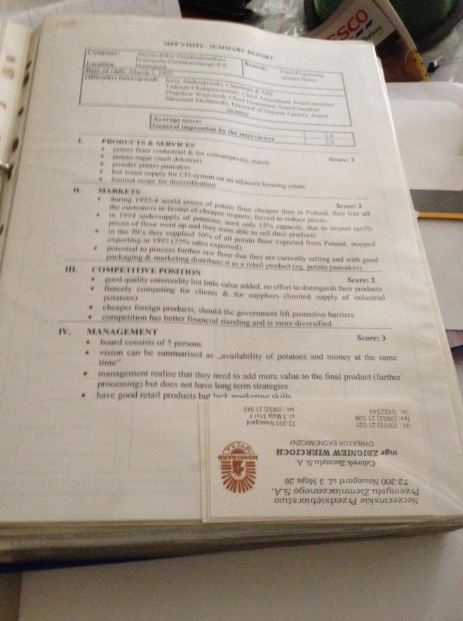 Raport oceny spółki PPP