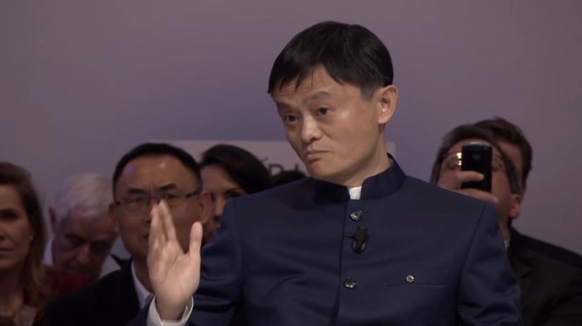 Jack Ma at Davos