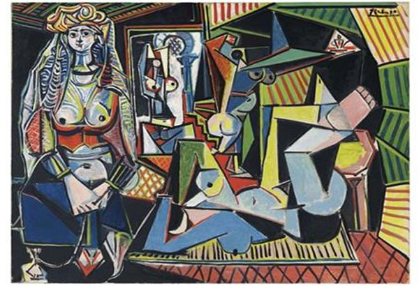 Pablo Picasso Women of Algiers