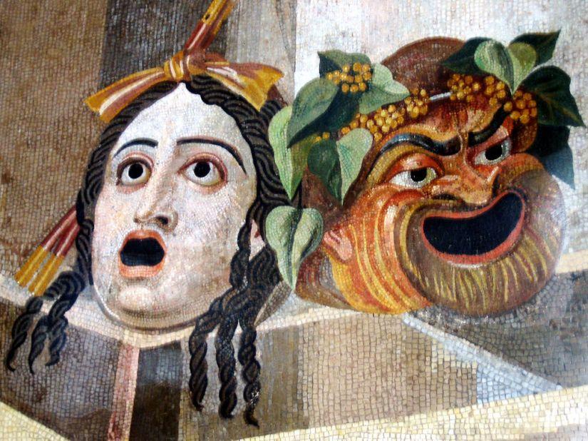 tragic_comic_masks_-_roman_mosaic